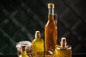 Healthy extra virgin olive oil
