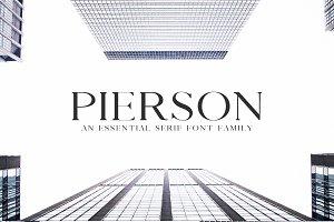 Pierson An Essential Serif Typeface