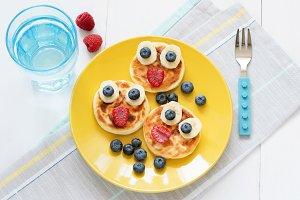 Creative breakfast for kids