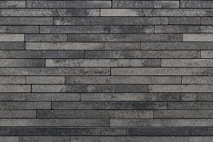 Strip stone wall cladding, texture