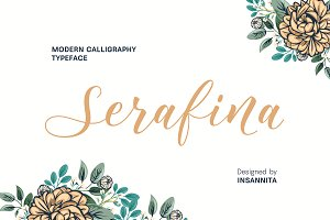 Serafina Typeface 25% OFF INTRO