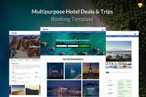 Multipurpose Hotel & Trips Booking