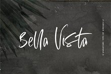 Bella Vista | Signature Type by  in Script Fonts