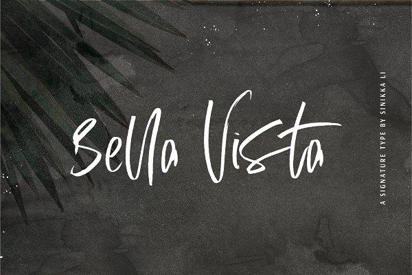 Script Fonts: Sinikka Li - Bella Vista | Signature Type