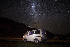Stars over our Camper Van