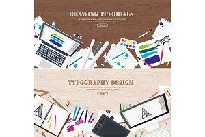 Digital drawing, graphic design