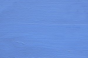 Painted Wood : Blue