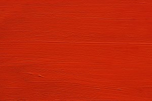 Painted Wood : Red