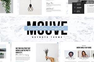 MOUVE - Elegant Keynote Template