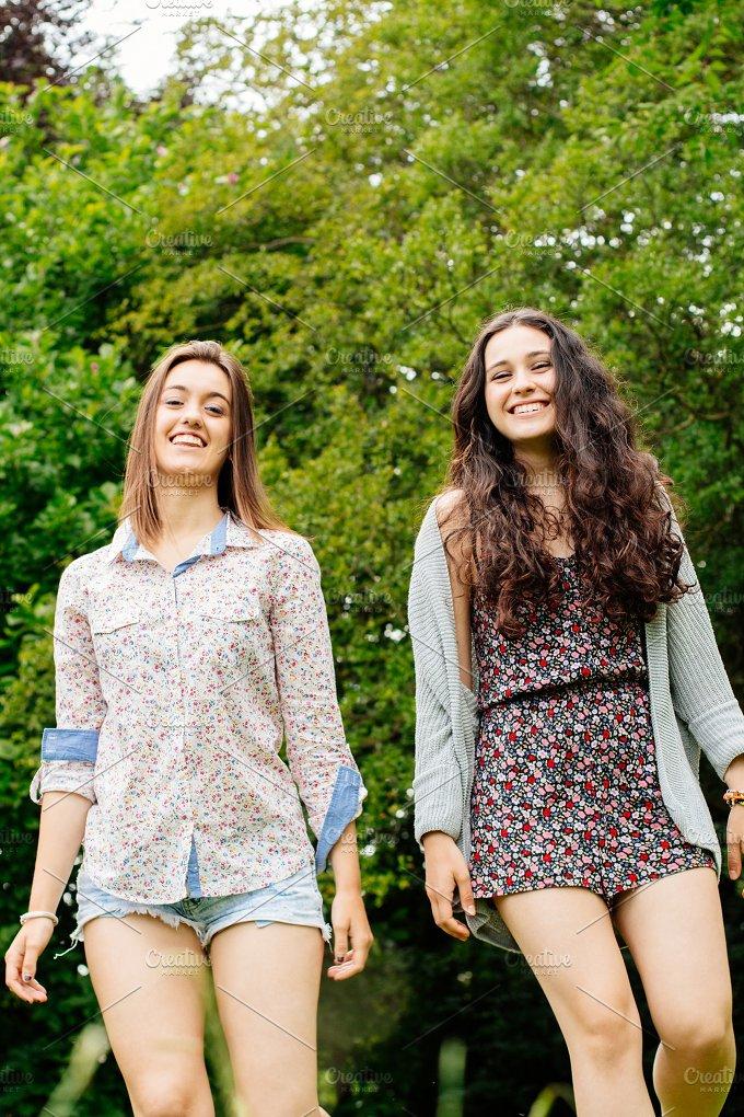 Girl friends walking.jpg - People