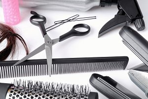 Group hairdressing tools