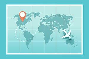 World Airplane Travel