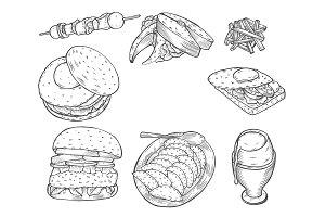 Fast food decorative