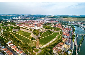 View of Marienberg Fortress in