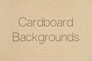 Cardboard Backgrounds