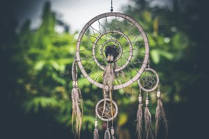 Dreamcatcher sunset , boho chic