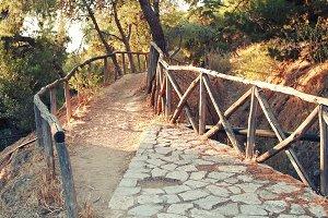 Road on Lycavitos.