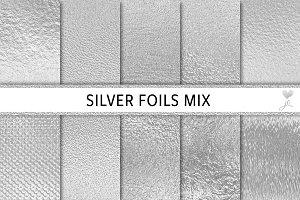 Silver Foils Mix