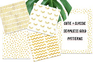 Timeless Modern Gold Patterns