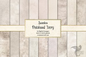 Distressed Ivory Textures