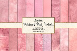 Distressed Pink Textures