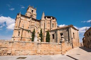 church in Sasamon , Burgos, Spain.