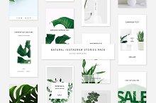 Natural Instagram Stories Pack by  in Social Media