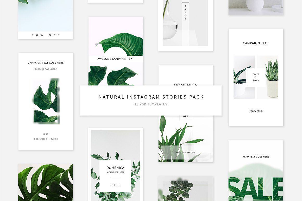 Natural Instagram Stories Pack