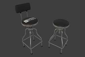 Garage Bar Stool