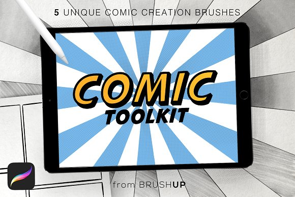 Comic Toolkit for Procreate