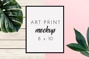 8x10 Wall Art Print Mock Up Creator
