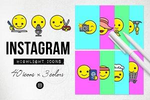 Emoji Instagram Highlight Icons