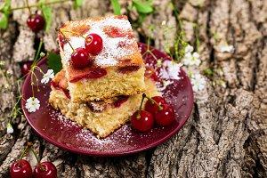 Tart Cherry Cake