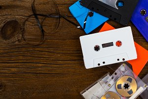 Compact Audio Cassette Tape