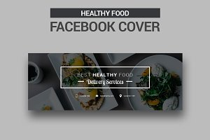 Healthy Food Facebook Cover