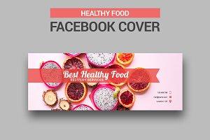 Healthy Food Facebook Cover