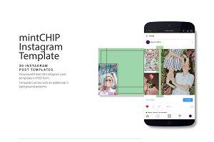 mintCHIP Instagram Post Template
