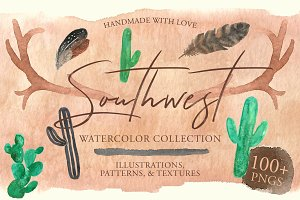 Southwest Watercolor Collection