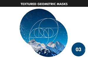 Textured Geometric Masks 03