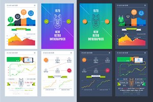Vector illustrations of infographic