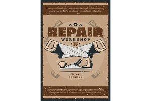 Work tools and repair equipment