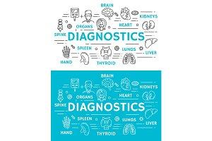Medical diagnostics banner