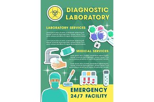 Diagnostic laboratory poster