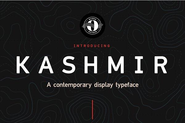 Sans Serif Fonts: Maison Octave - Kashmir