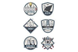 Electrical service symbols