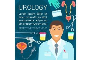 Urology medicine poster
