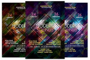 Modern Sounds Flyer