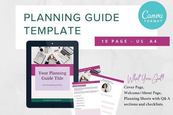 Planning Guide Lead Magnet for CANVA
