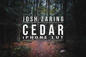 CEDAR LUT for iPhone