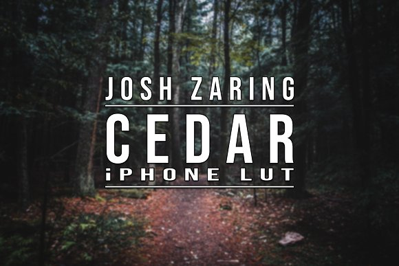 CEDAR LUT for iPhone